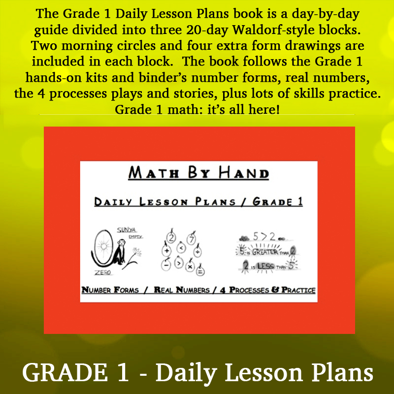 grade 1 daily lesson plans math by hand