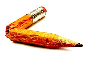 brkn pencil