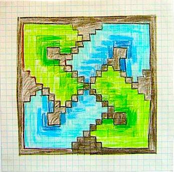x-stitch sketch